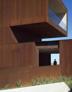 COR-TEN в архітектурі
